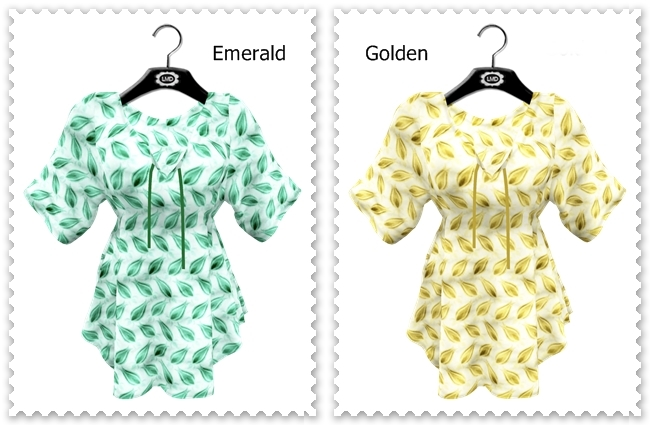 Alina AD Emerald & Golden