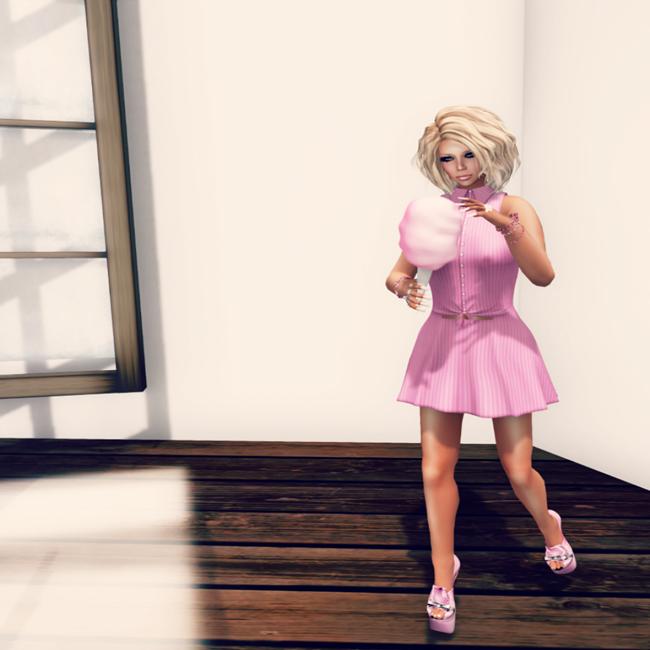 LMD Ad Display Mallory Dress Bubblegum-2