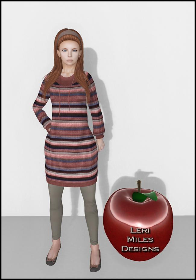 LMD Ad Display Willa Sweater-Leggings Fashion Feed of SL x AVENUE Back To School Hunt