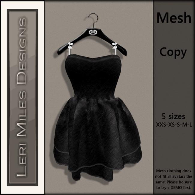 LMD Ad MP Allison Dress Black