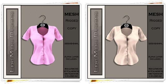 LMD Ad MP Reyna Blouse Blush-Latte