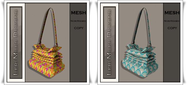 LMD Ad MP Scrunchy Bag Jester-Seashell