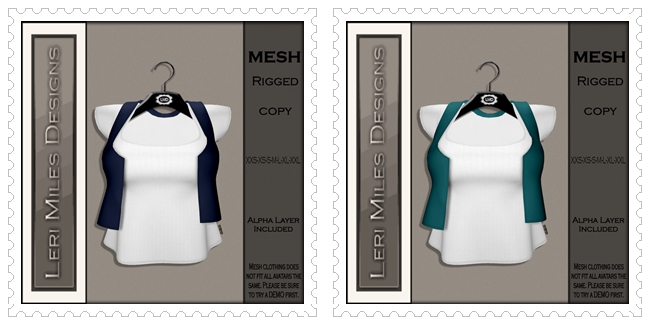 LMD Ad MP Lanna Top Solid Sapphire-Teal