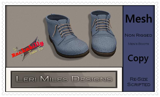 LMDforMen Ad MP Billy Bob Boots TRFF Exclusive