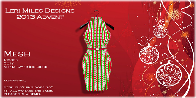 LMD Ad Display Advent 2013 Marina Dress 03