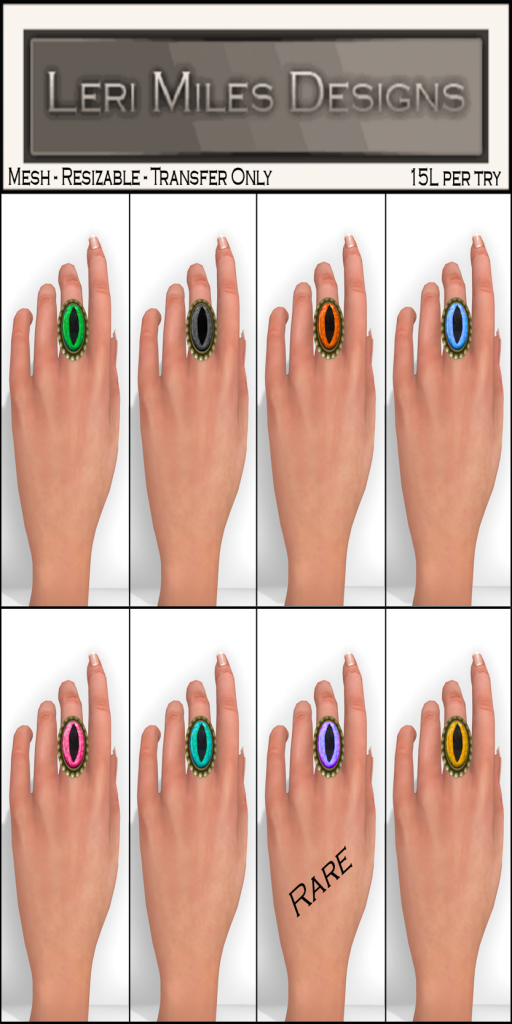 LMD Ad Cats Eye Ring Gacha