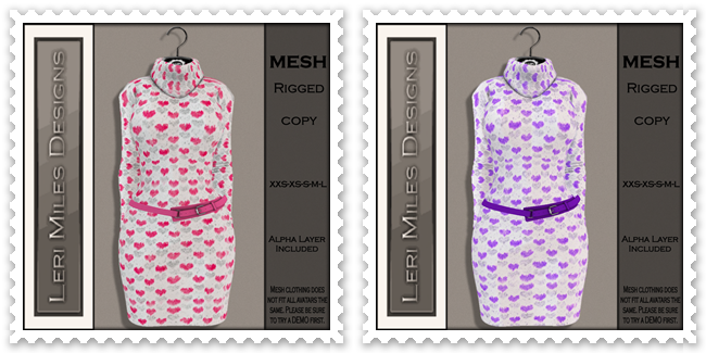 LMD Ad MP Kenzie Dress Pink-Purple