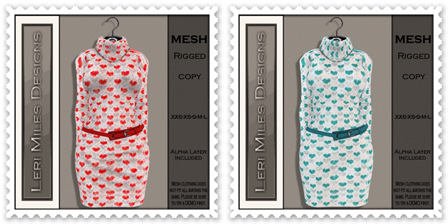 LMD Ad MP Kenzie Dress Red-Teal