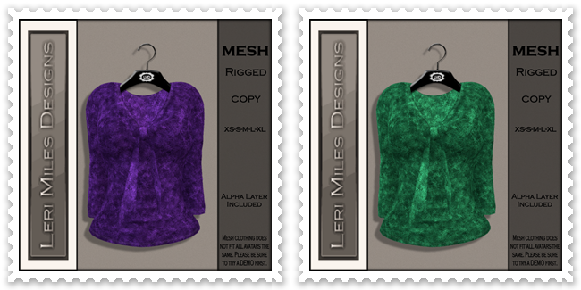 LMD Ad MP Dru Blouse Amethyst-Emerald