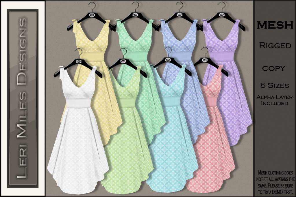 LMD Ad MP Polly Dress Addict Pack