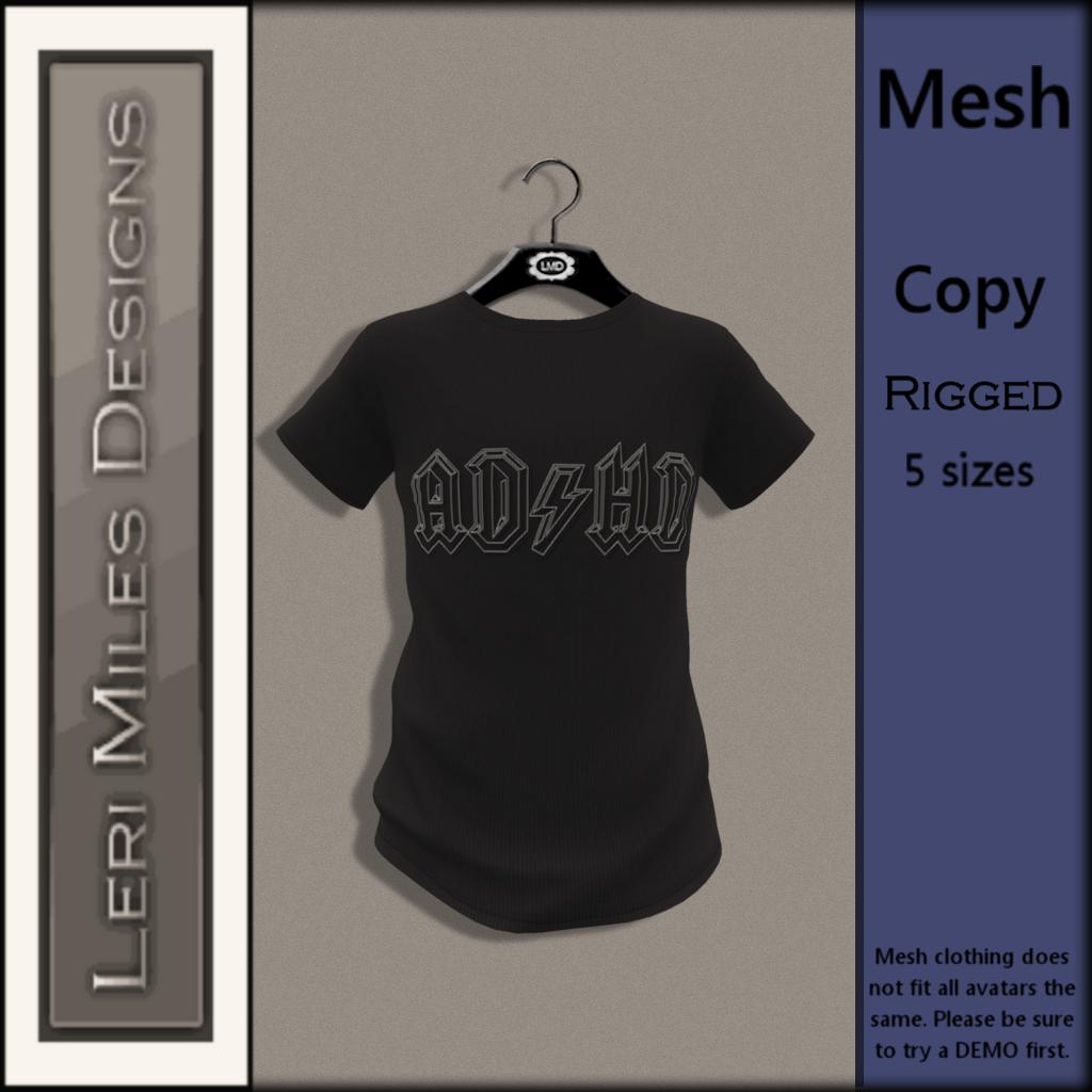 LMDfM Ad MP Tee ADHD