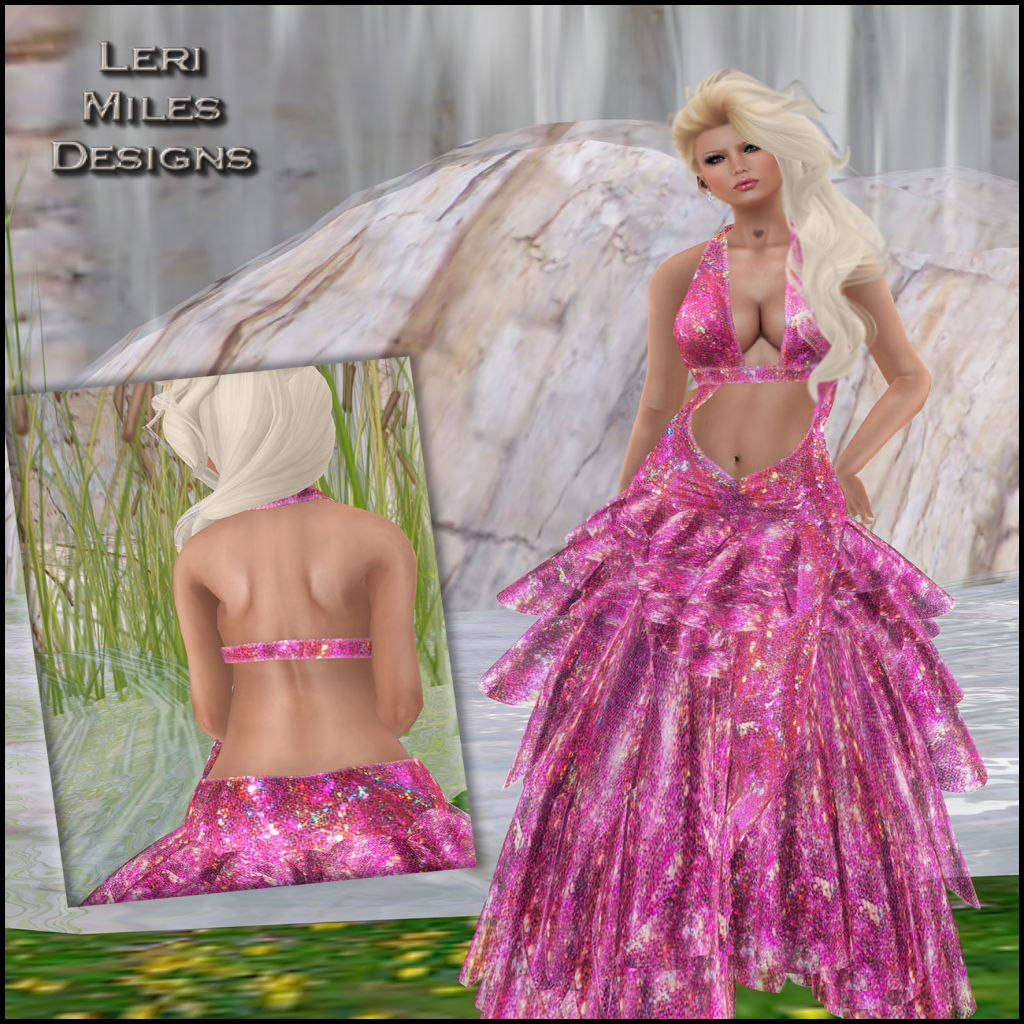 LMD Ad Display Clarice Gown Blush