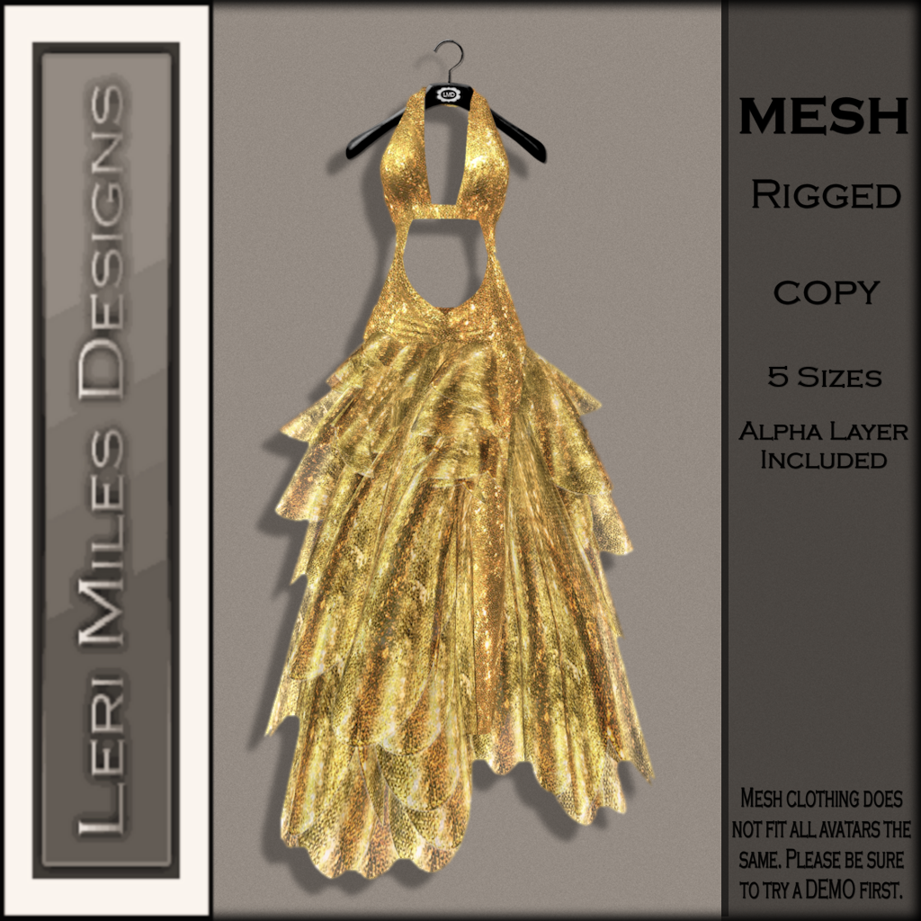 LMD Ad MP Clarice Gown Goldrush