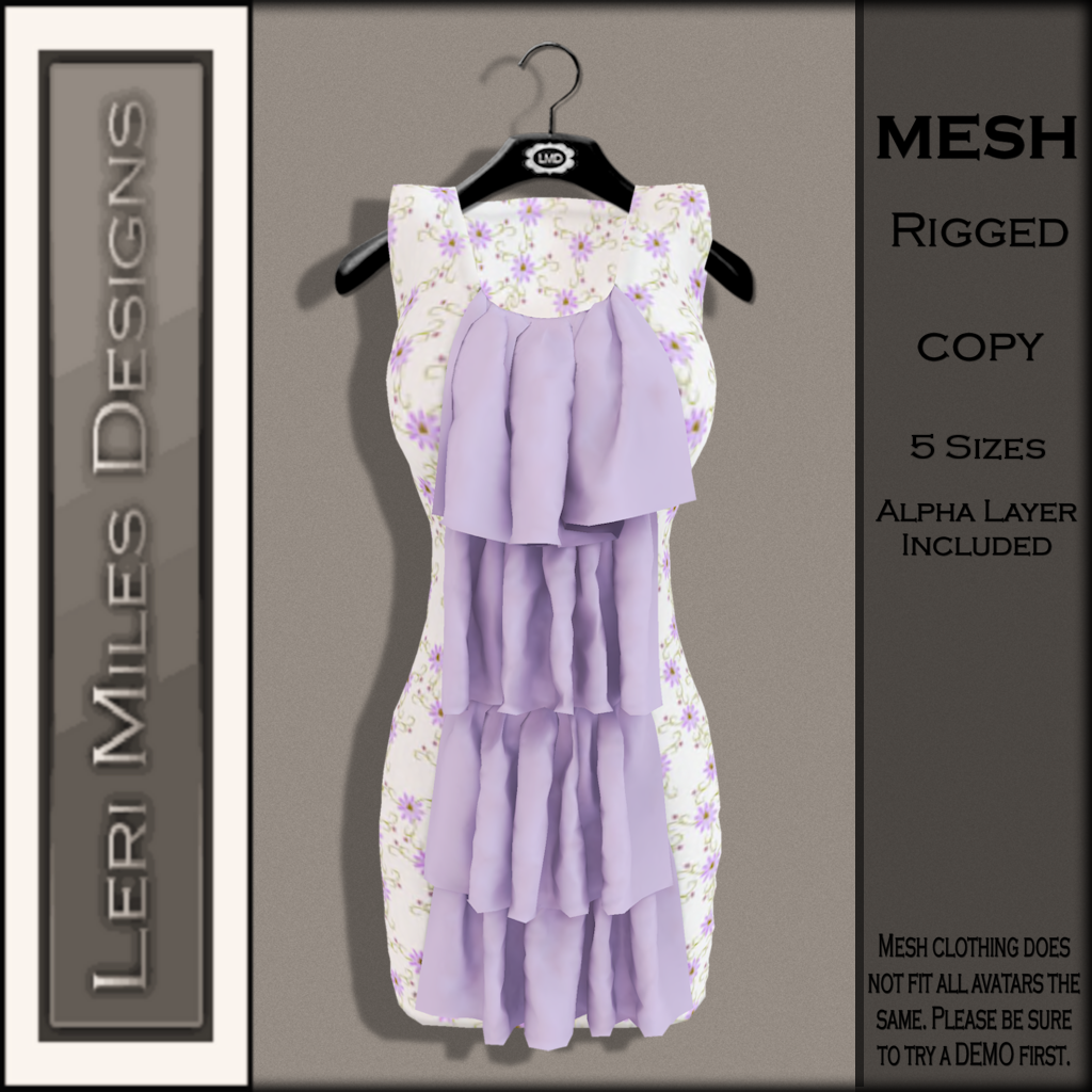 LMD Ad MP Marlene Dress Lilac