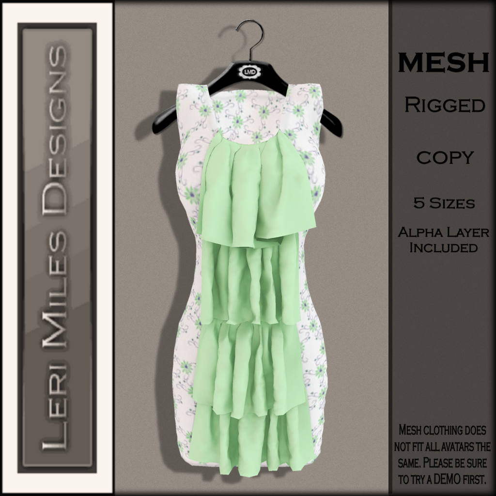 LMD Ad MP Marlene Dress Mint
