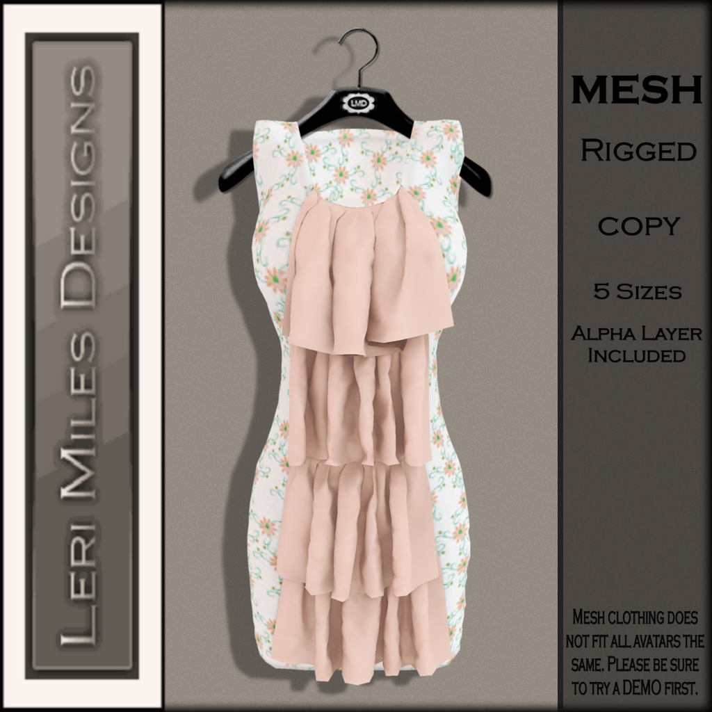 LMD Ad MP Marlene Dress Peach