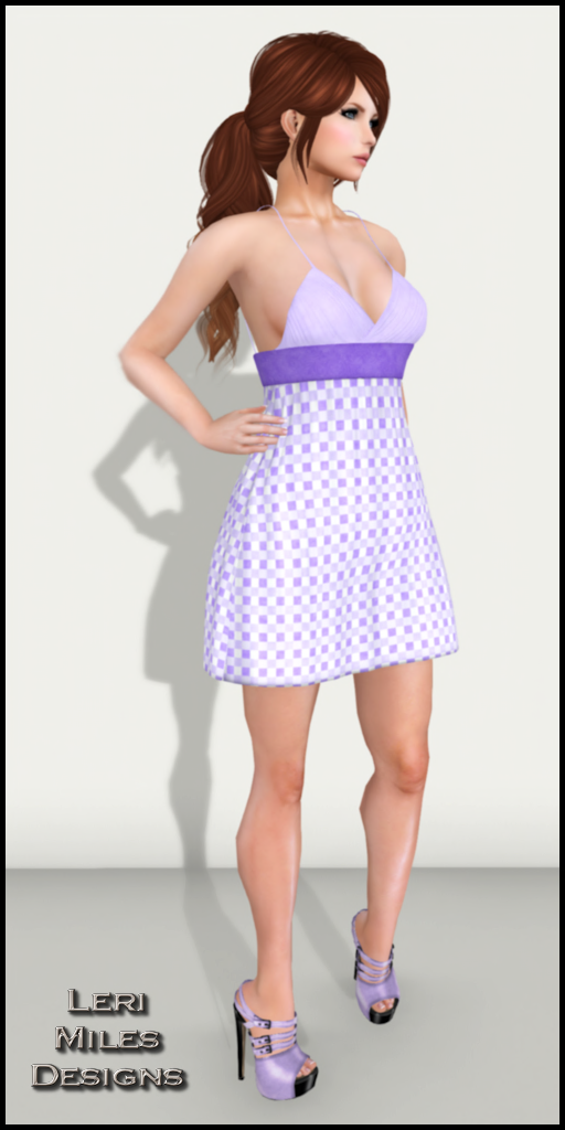 LMD Ad Display Mitsi Dress Lilac