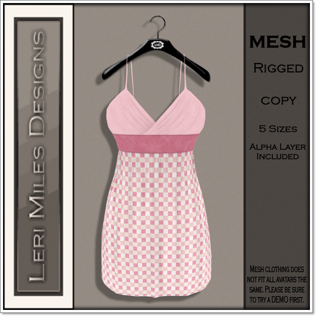 LMD Ad MP Mitsi Dress Blush