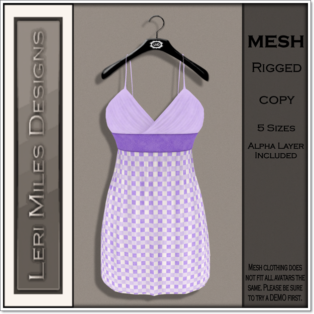 LMD Ad MP Mitsi Dress Lilac