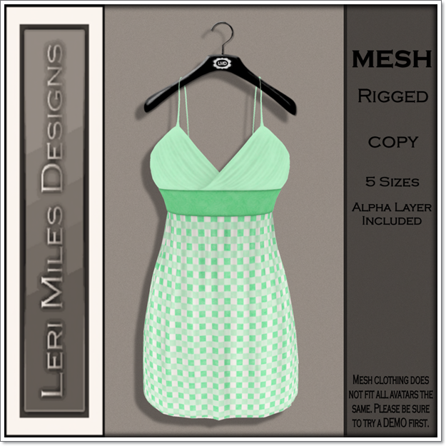 LMD Ad MP Mitsi Dress Mint