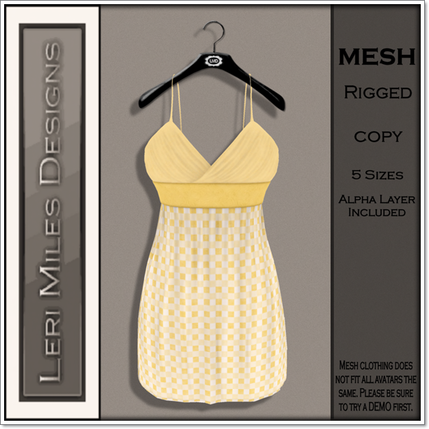 LMD Ad MP Mitsi Dress Sunny