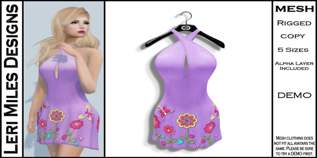 LMD Ad MP Lexy Dress Lilac