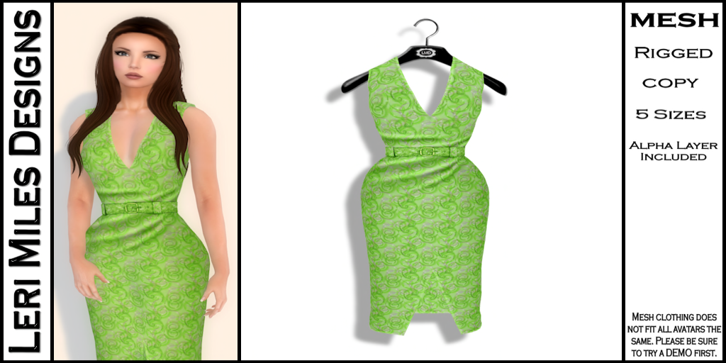 Kina Dress Lime