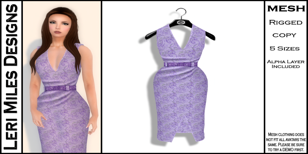 Kina Dress Wisteria