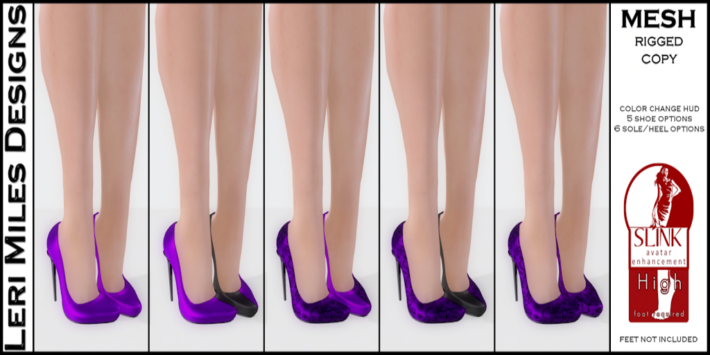 My Color Pumps Purple