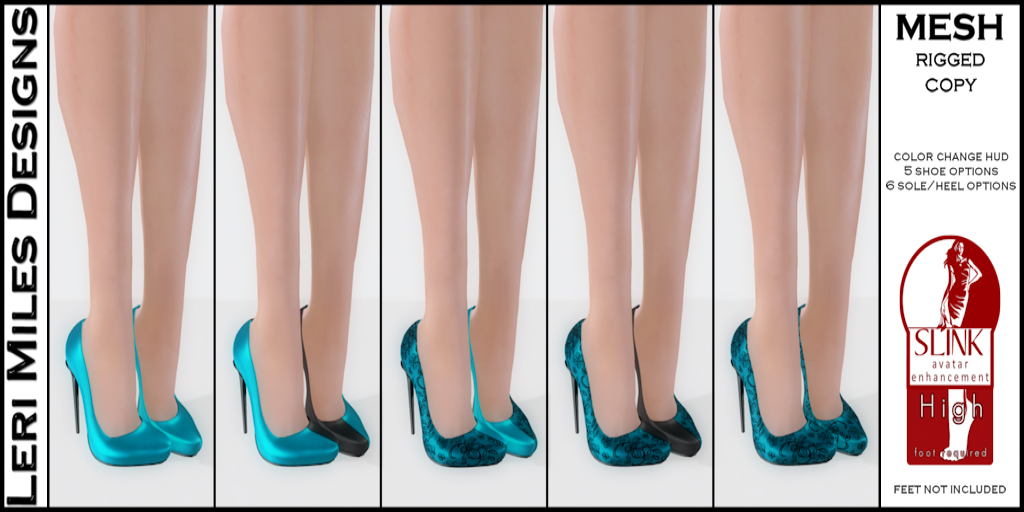 My Color Pumps Teal