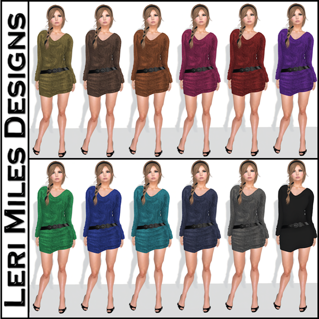 LMD Ad MP Chenille Dress Addict Pack