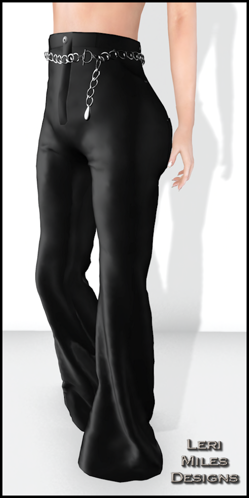 LMD Ad Display Sexy Satin Slacks
