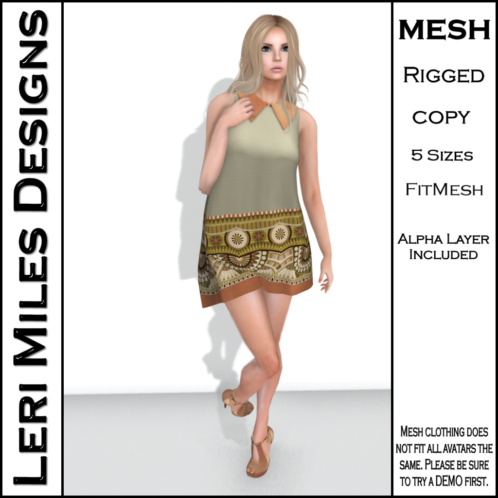 Clora Dress Beige