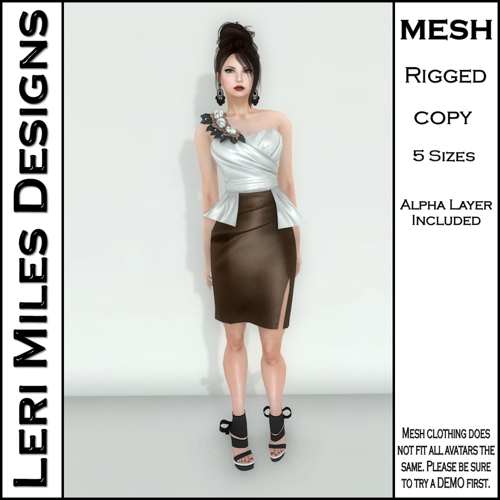 MP Lemora Dress Chocolate