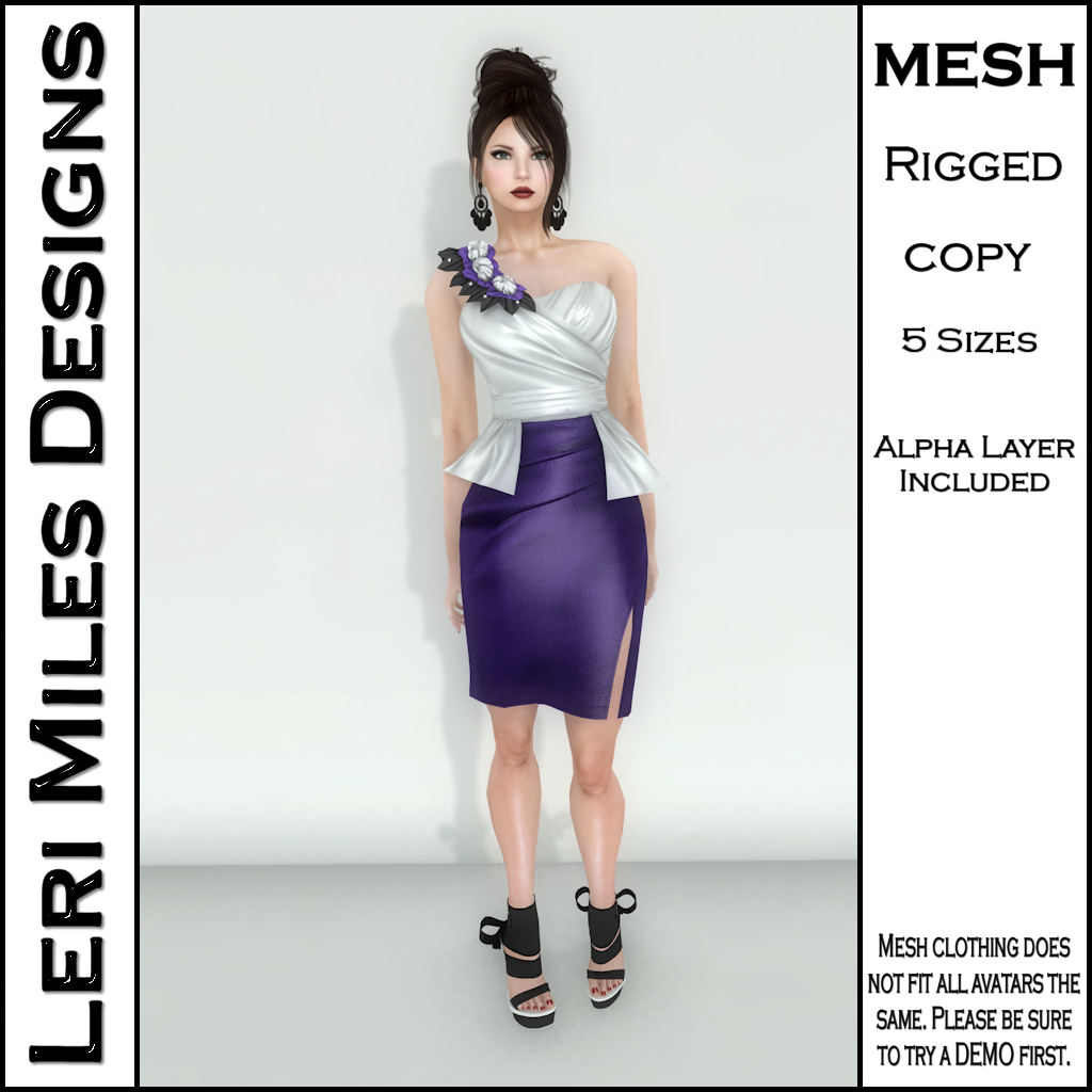 MP Lemora Dress Eggplant