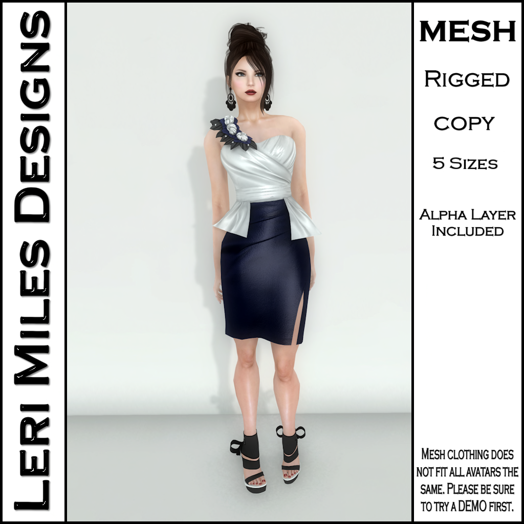 MP Lemora Dress Navy