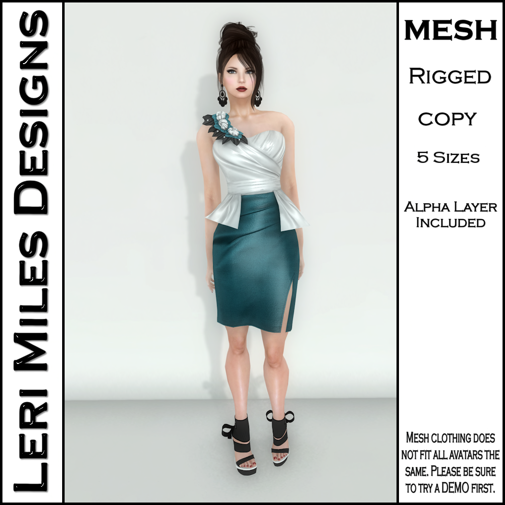 MP Lemora Dress Teal