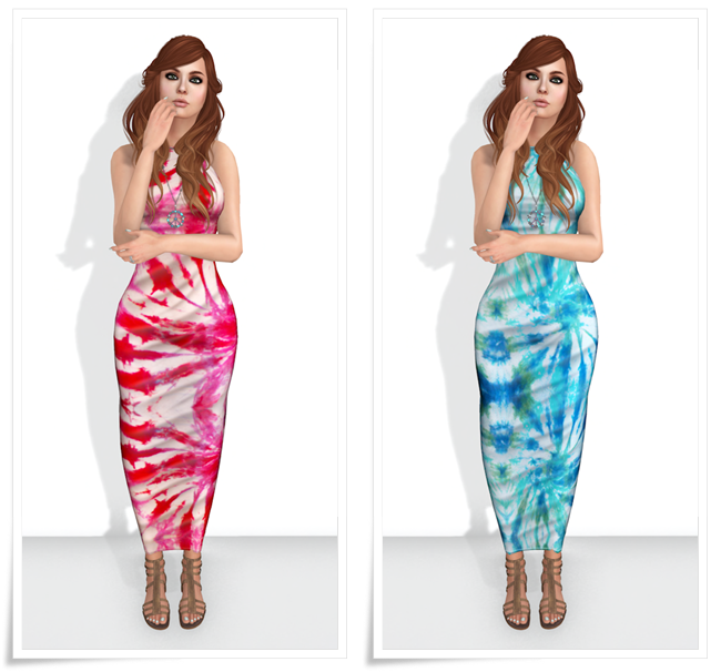 LMD Vendor Groupie Sundress Rage-Tropical