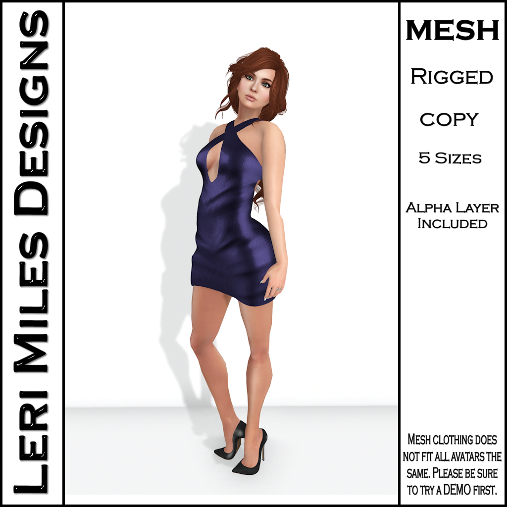 LMD Ad MP Ice Dress Amethyst