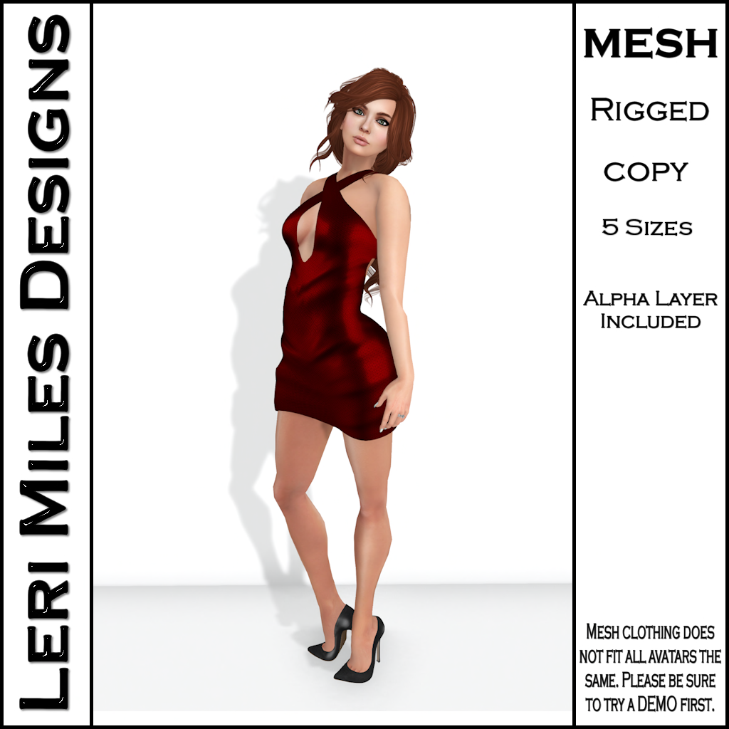 LMD Ad MP Ice Dress Ruby