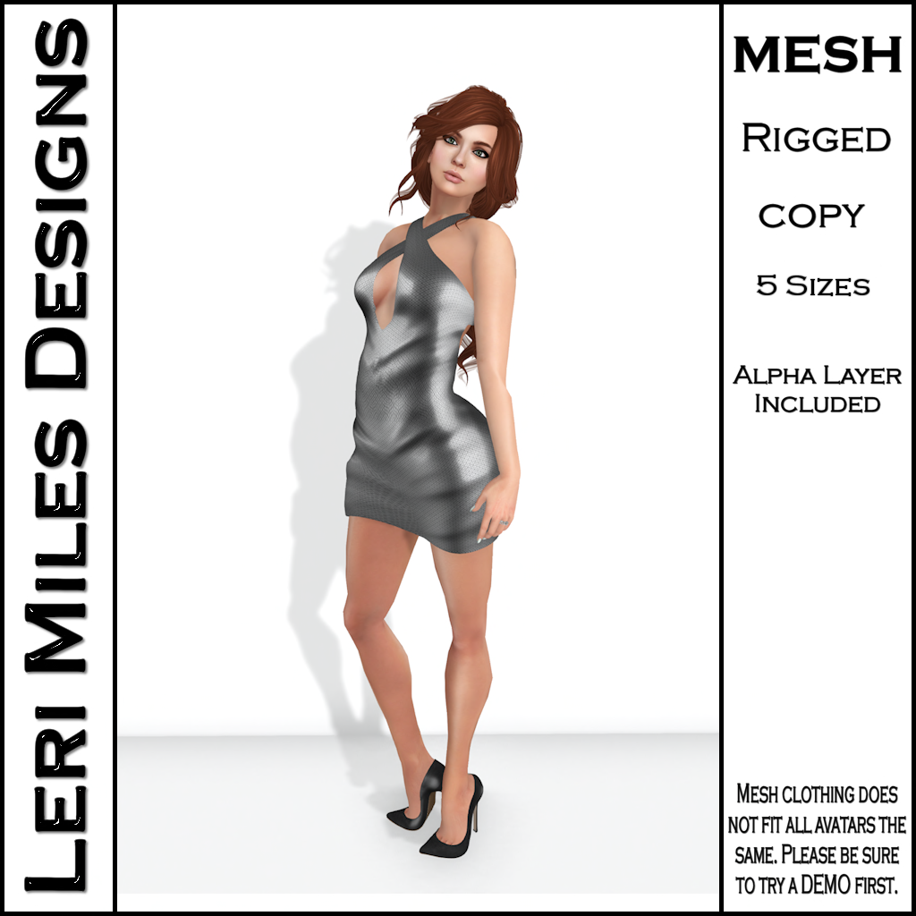 LMD Ad MP Ice Dress Silver