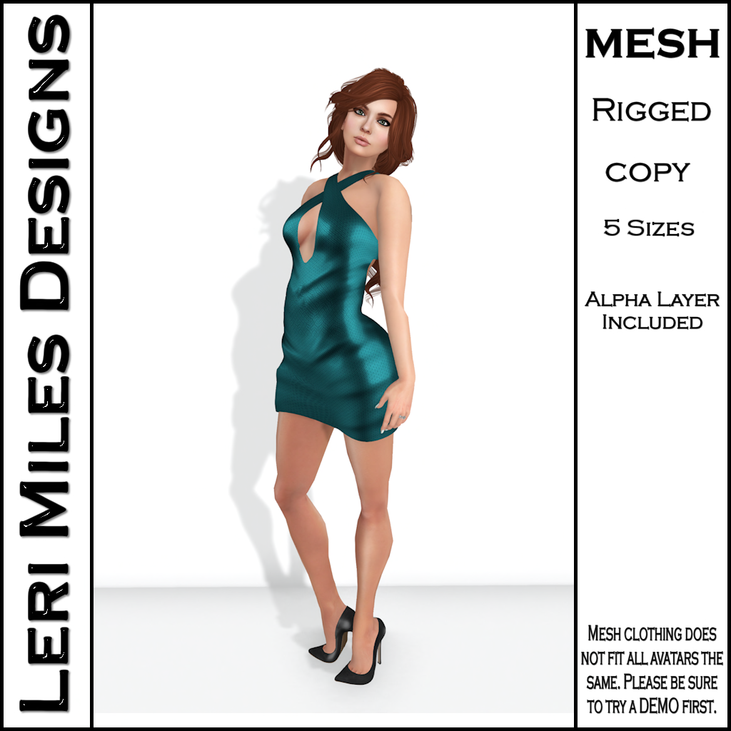 LMD Ad MP Ice Dress Turquoise