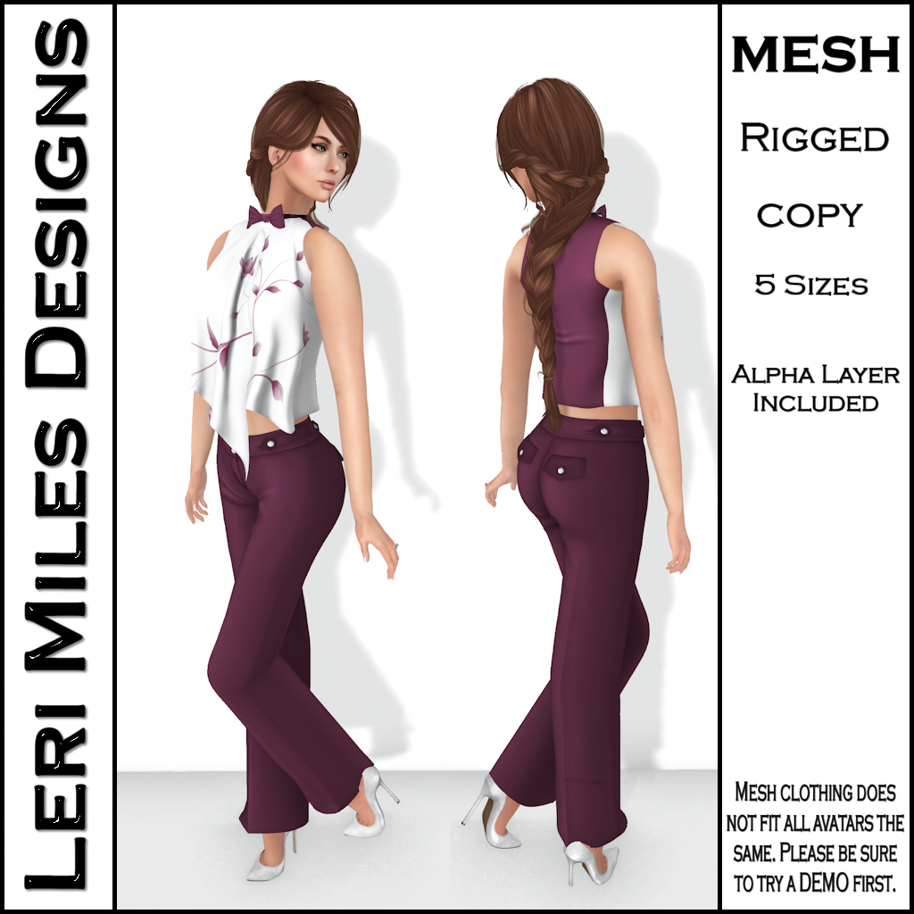 LMD Ad MP Malia Blouse Merlot